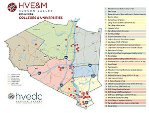 Eds & Meds Colleges and Universities Map