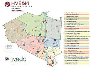 Eds & Meds Hospitals Map