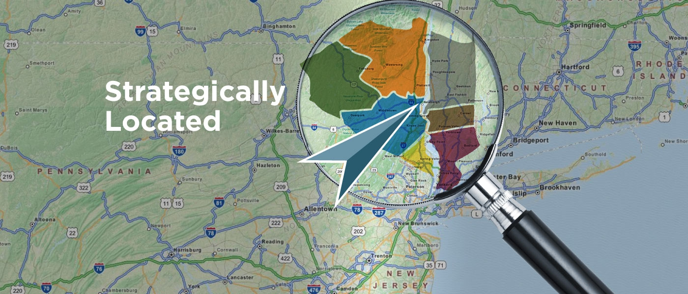 Hudson Valley New York Map.Hvedc Hudson Valley Economic Development Corporation